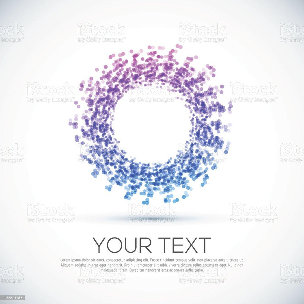 Icono de círculo abstracto de negocios. - ilustración de arte vectorial