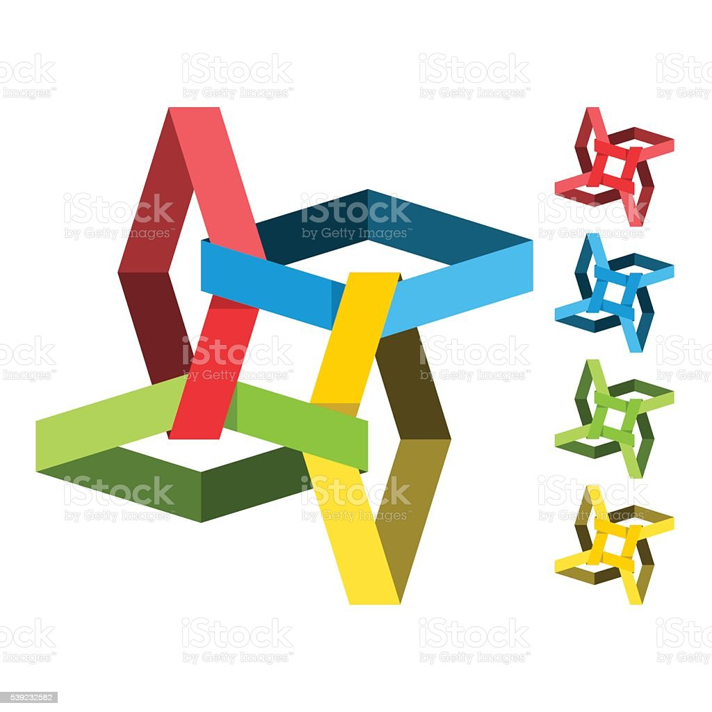 Icono de negocios abstractos ilustración de icono de negocios abstractos y más banco de imágenes de abstracto libre de derechos
