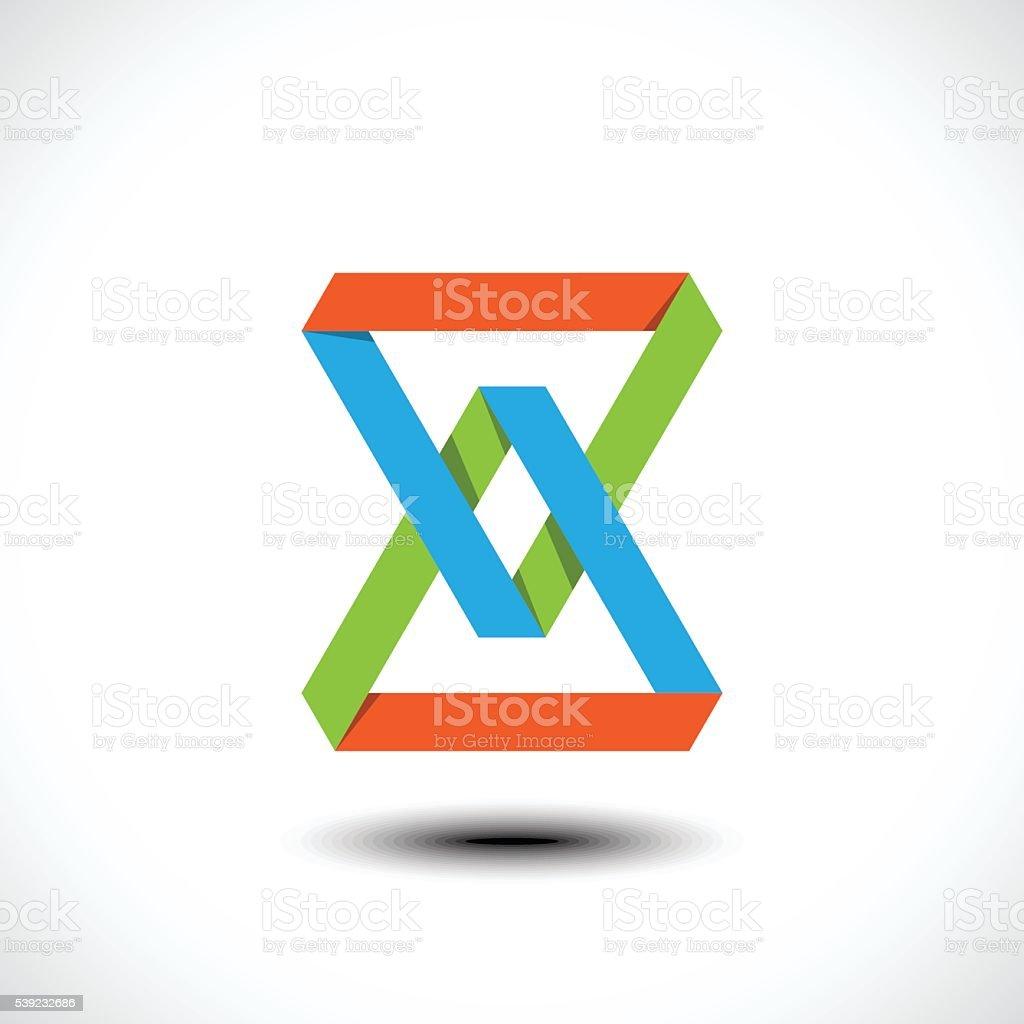 Abstrato ícone de negócios ilustração de abstrato ícone de negócios e mais banco de imagens de abstrato royalty-free