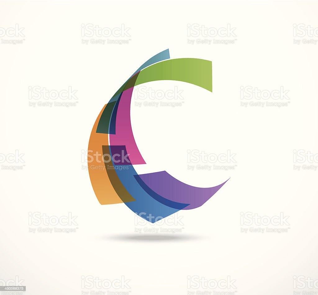 Business abstract icons vector art illustration