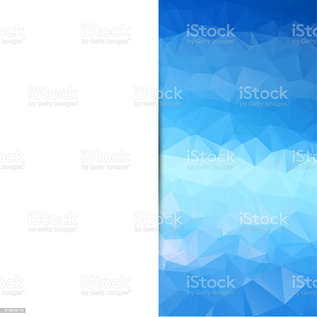 Business Abstract Triangle Corporate Background Stock Vector Art