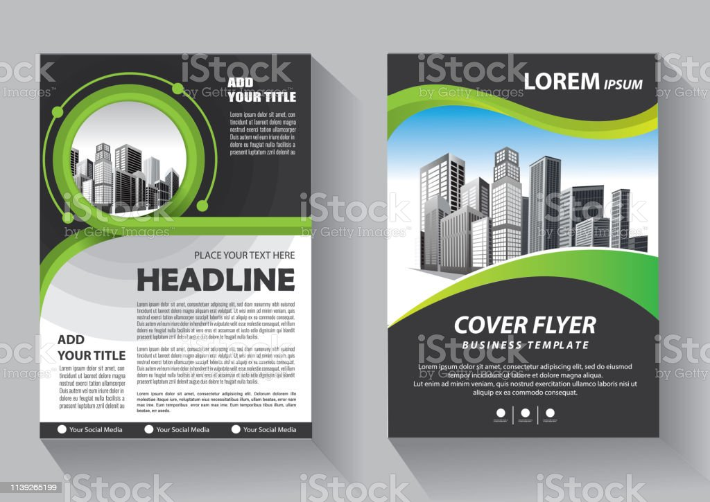 Business abstract vector template. Brochure design, cover modern...