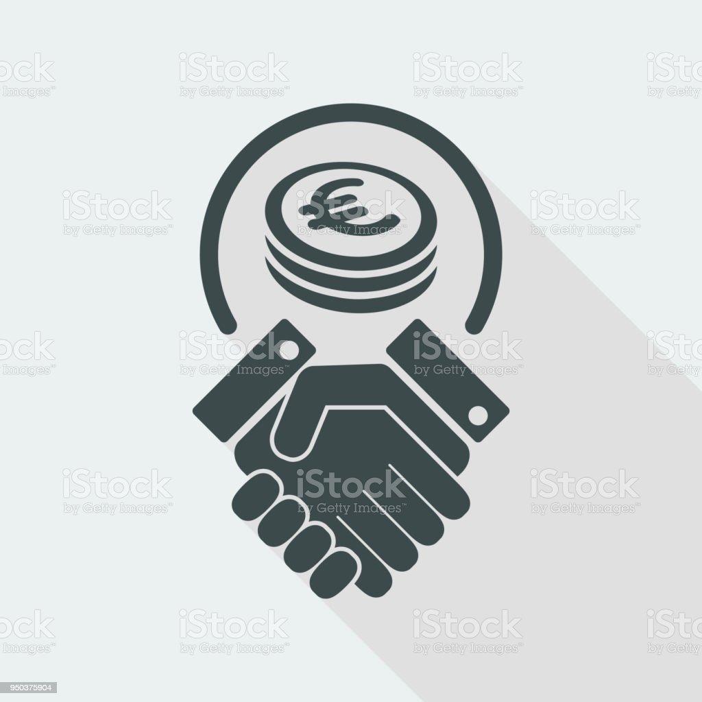 Geschäftsvereinbarung Euro Stock Vektor Art und mehr Bilder von ...