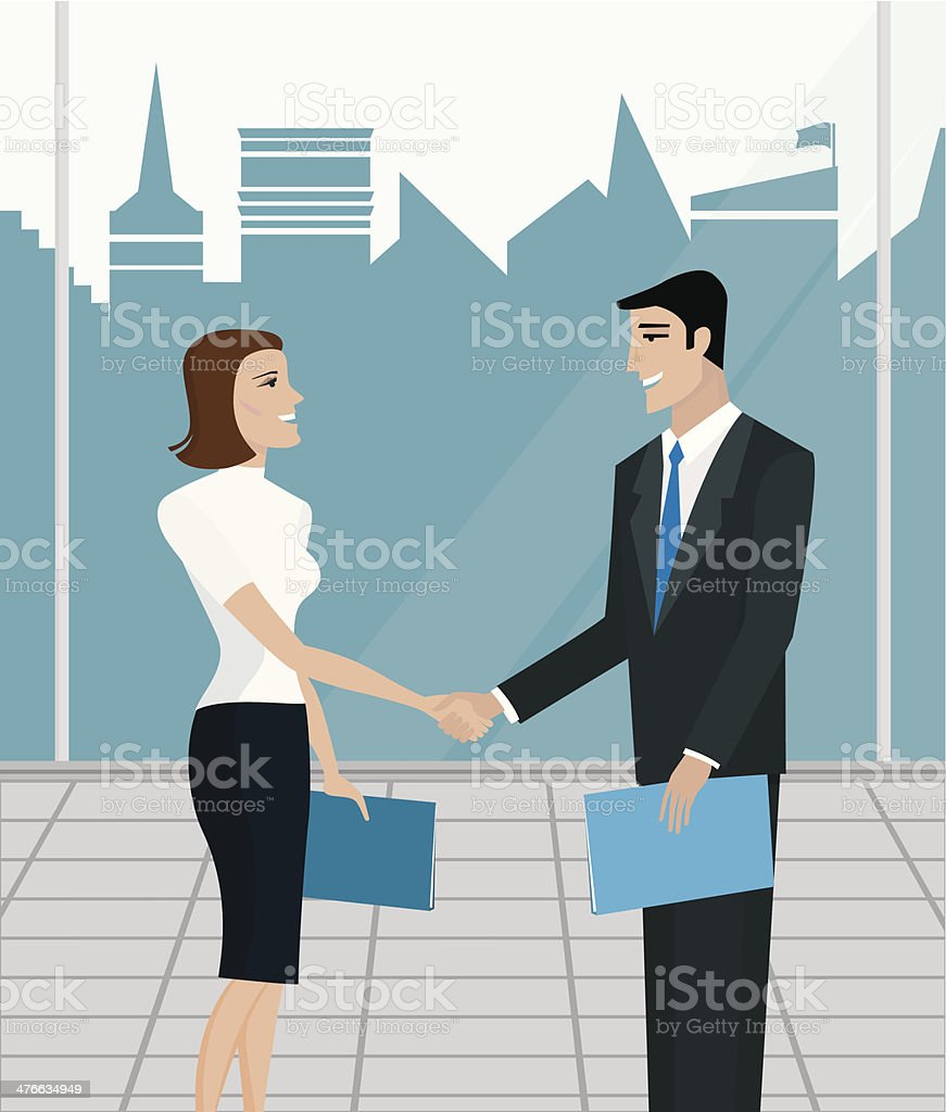 Business agreement royalty-free business agreement stock vector art & more images of agreement