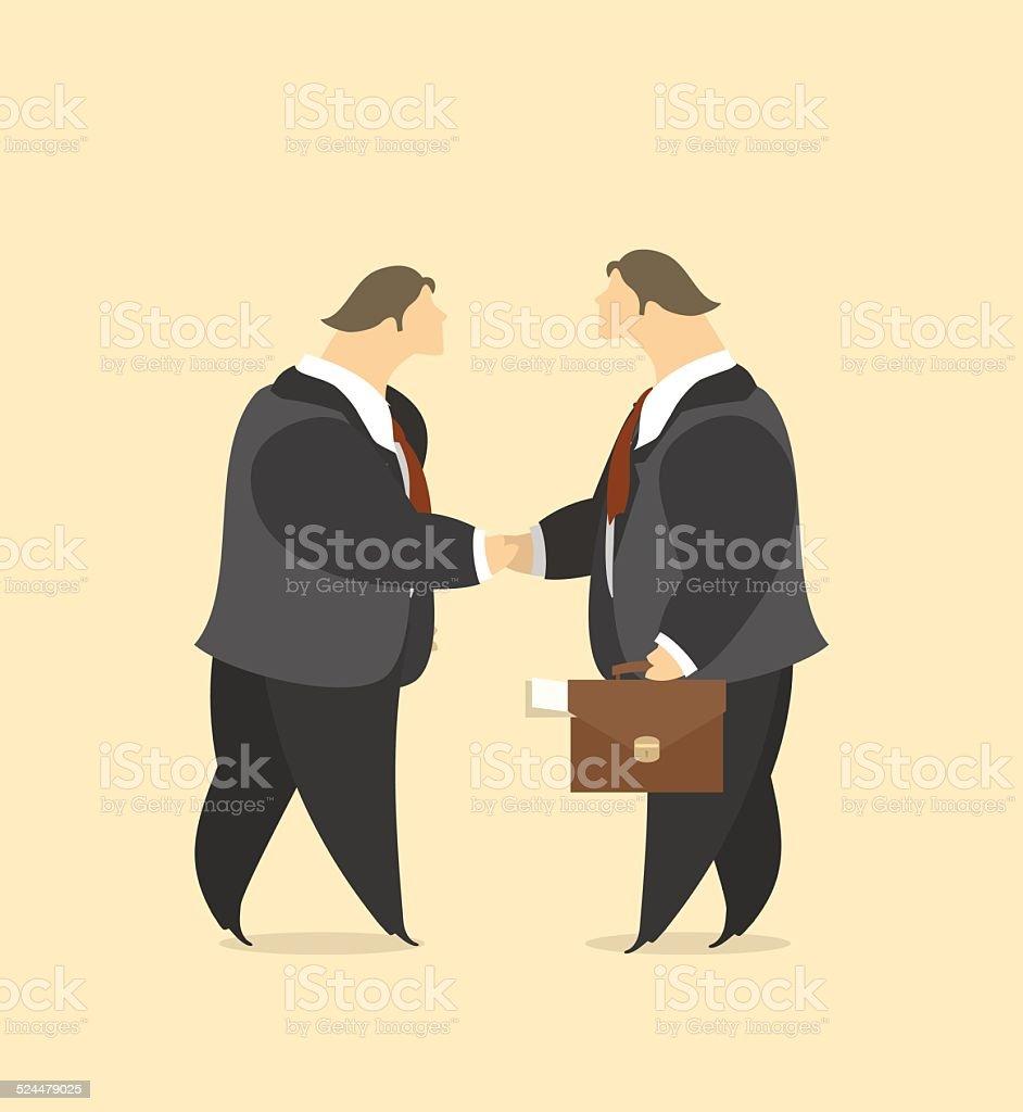Business Vertrag Stock Vektor Art und mehr Bilder von Abmachung ...