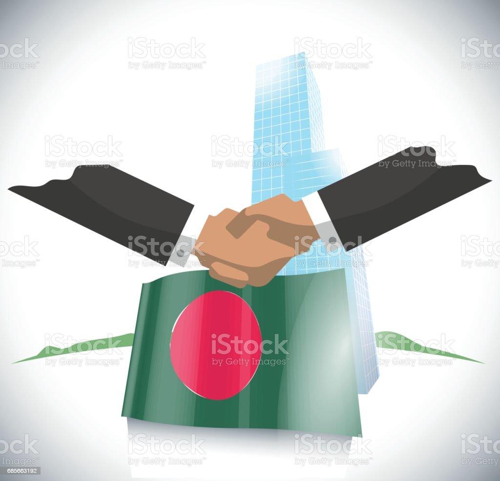 業務協定 免版稅 業務協定 向量插圖及更多 交易員 圖片