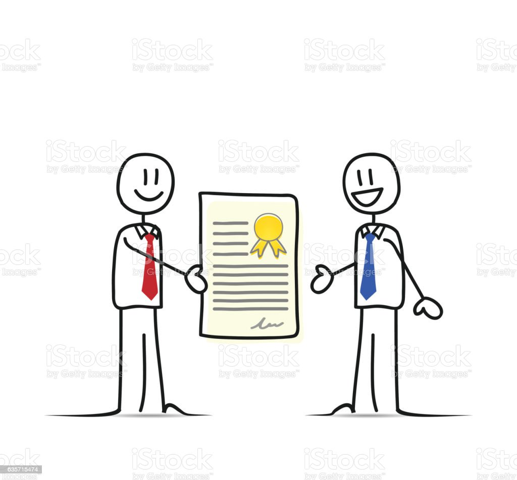 Business agreement with contract royalty-free business agreement with contract stock vector art & more images of adult