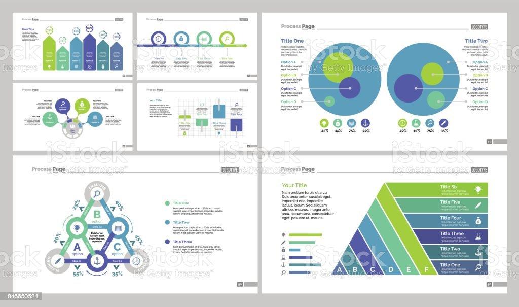 Algoritmo empresa diagrama conjunto - ilustración de arte vectorial
