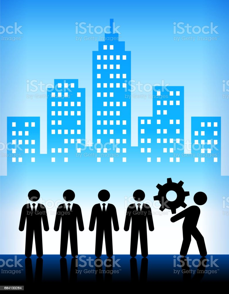 Business and Corporate Challenges Modern City Background business and corporate challenges modern city background - immagini vettoriali stock e altre immagini di adulto royalty-free