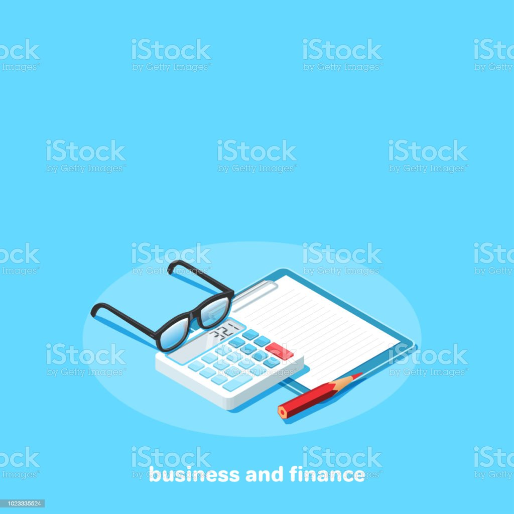 business and finance 6 vector art illustration