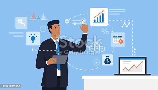 istock Business and finance innovative technologies 1260152055