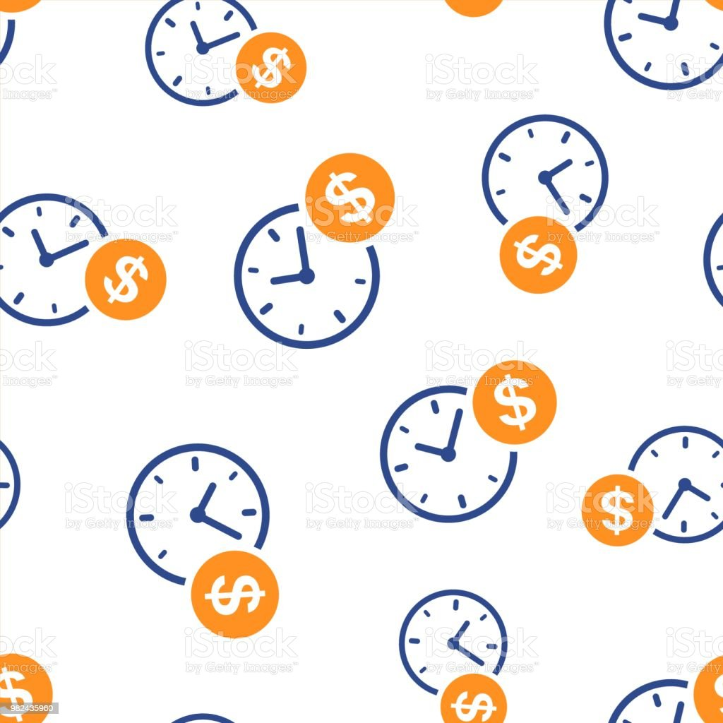 business and finance management icon seamless pattern background business concept vector illustration financial strategy