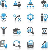 Business and Human Resources Icon Set