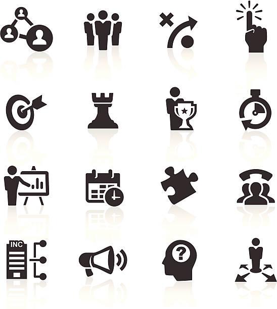 Business-und Management-Symbole – Vektorgrafik