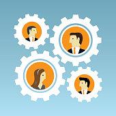 Gear, Equipment, Data, Machine Part, Teamwork