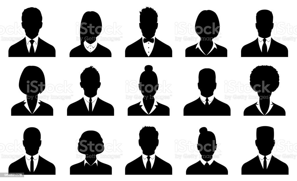 Business avatars , profile icons set royalty-free business avatars profile icons set stock vector art & more images of adult