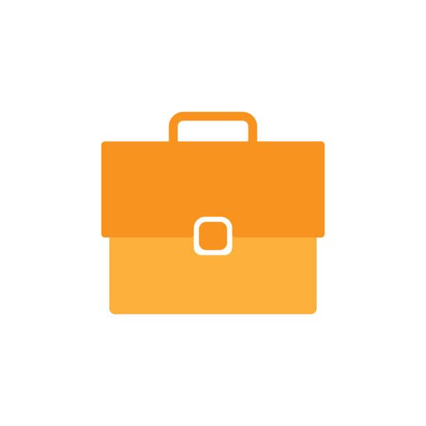 illustrazioni stock, clip art, cartoni animati e icone di tendenza di business bag icon for web design. vector illustration. - borsa 24 ore