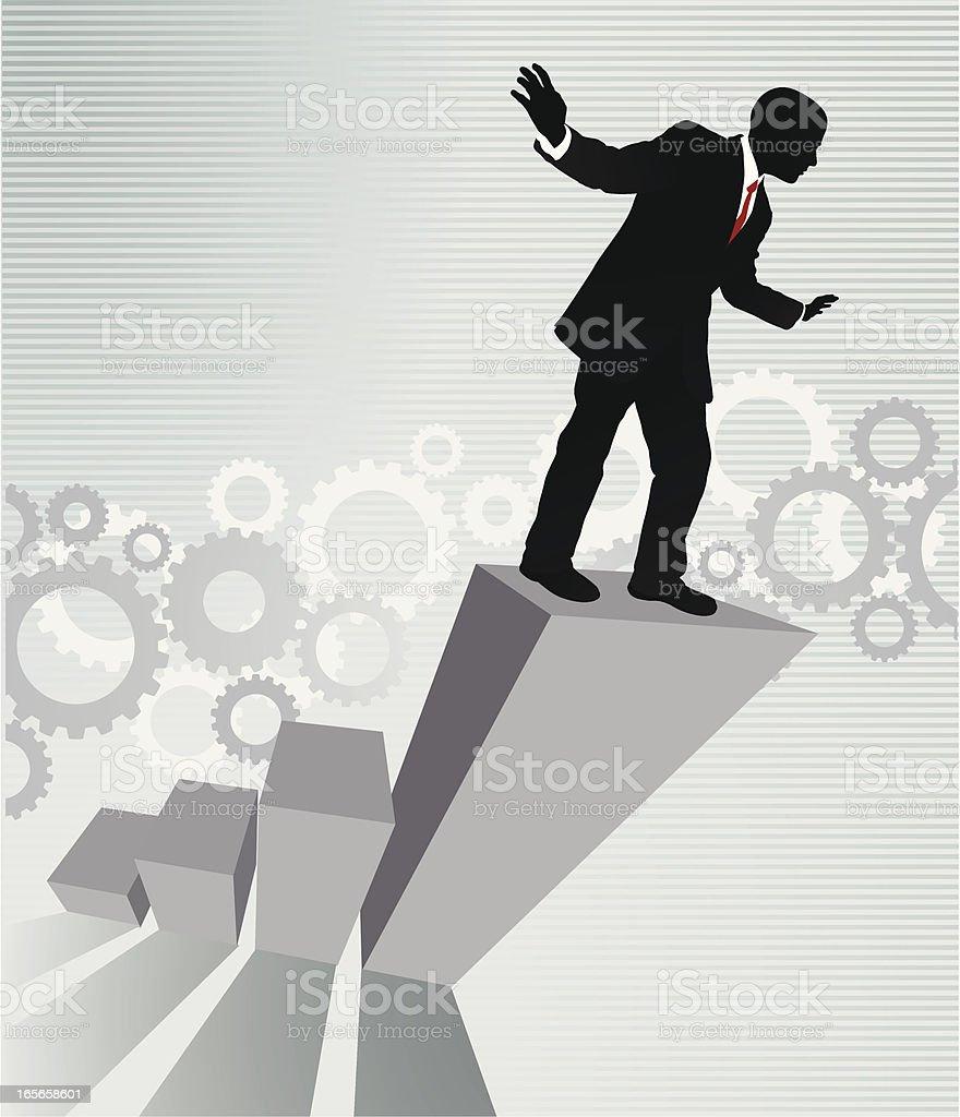 business Balance royalty-free stock vector art