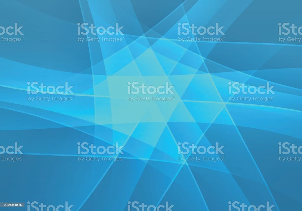 Business blue polygon background vector art illustration