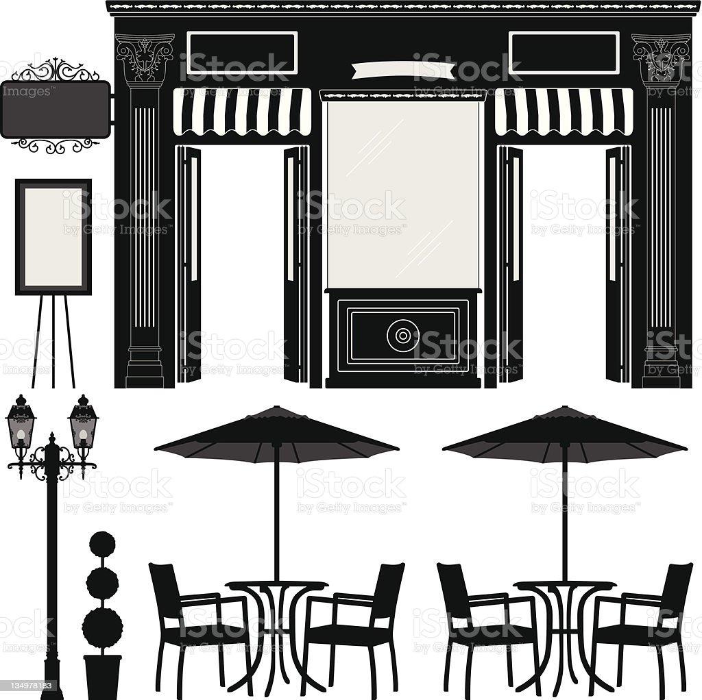 Business Boutique Shop Scenario royalty-free business boutique shop scenario stock vector art & more images of advertisement