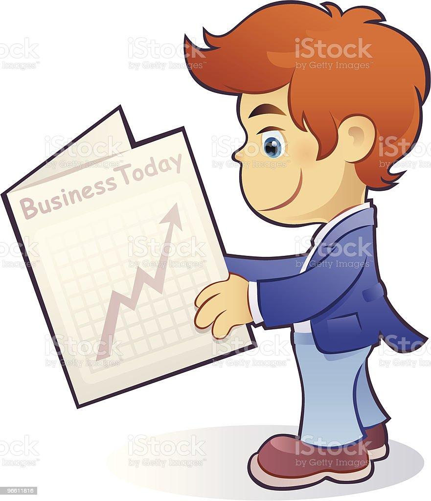 business boy - Royaltyfri Affärsman vektorgrafik
