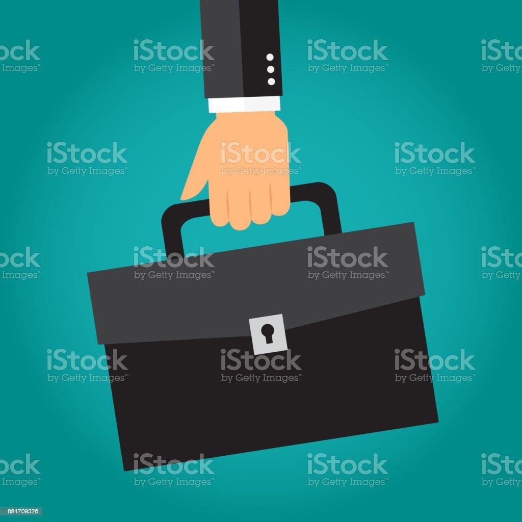 Business Aktentasche – Vektorgrafik