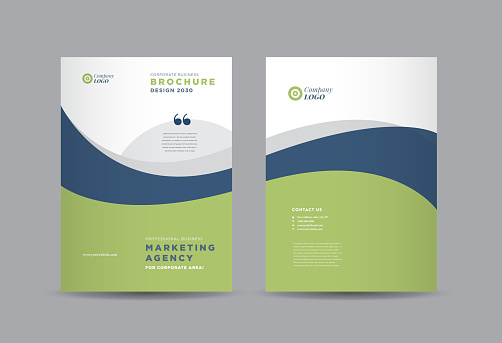 Business Brochure Cover Design | Annual Report and Company Profile Cover | Booklet and Catalog Cover