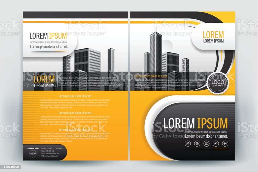 Business Brochure Cover Design Brochure Template Layout Template