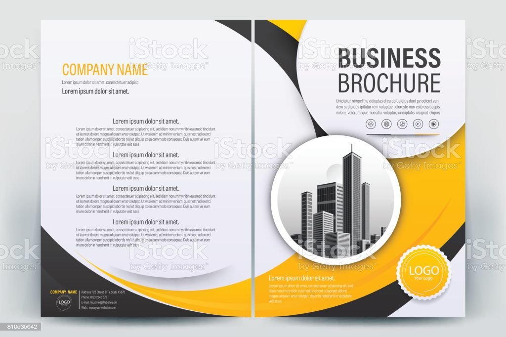 business brochure cover design brochure template layout