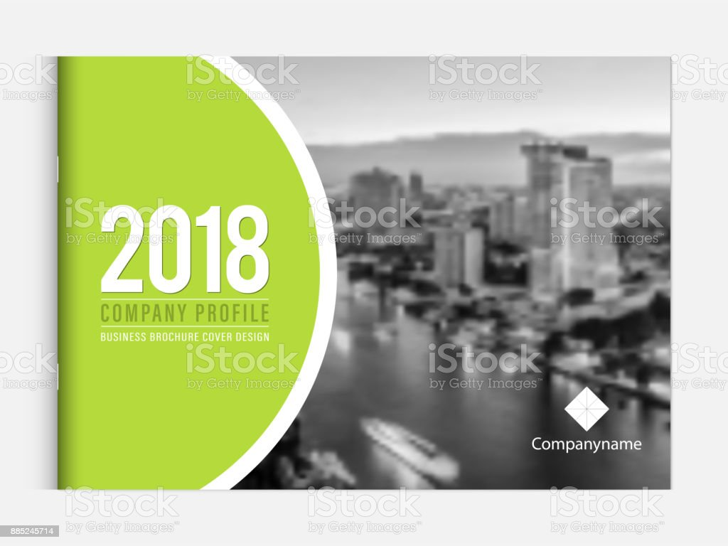 Business Brochure Cover Design Template Corporate Company Profile Or ...