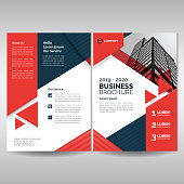 Front and back cover of corporate brochure