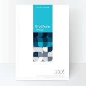 Business brochure cover template