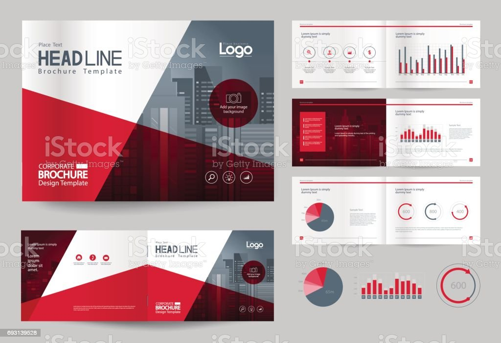 Business brochure design template and page layout for company business brochure design template and page layout for company profile annual reportwith page wajeb Image collections