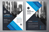 Business brochure flyer design a4 template