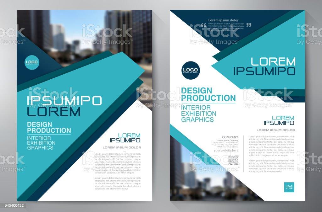 Business brochure flyer design a4 template. royalty-free stock vector art