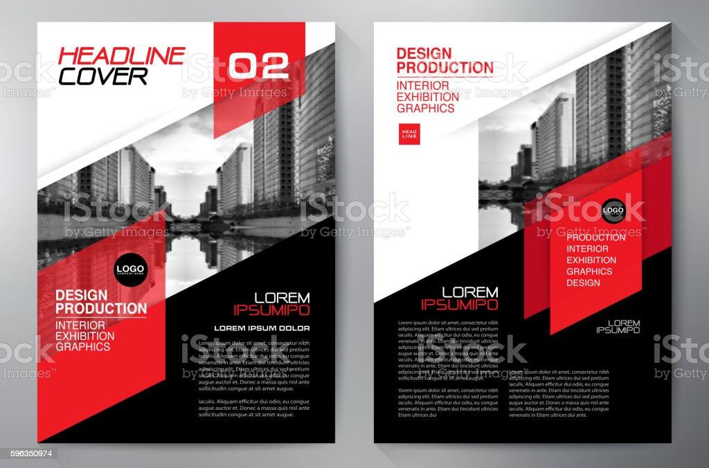 Geschäft Broschüre Vorlage Flyer design der a4. Lizenzfreies geschäft broschüre vorlage flyer design der a4 stock vektor art und mehr bilder von abstrakt