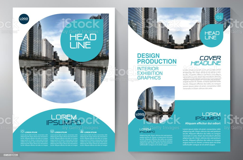 Business brochure flyer design a4 template royalty-free business brochure flyer design a4 template stock vector art & more images of abstract