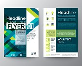 business brochure flyer design layout template