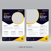 istock Business Brochure Flyer Design Template 1203085103