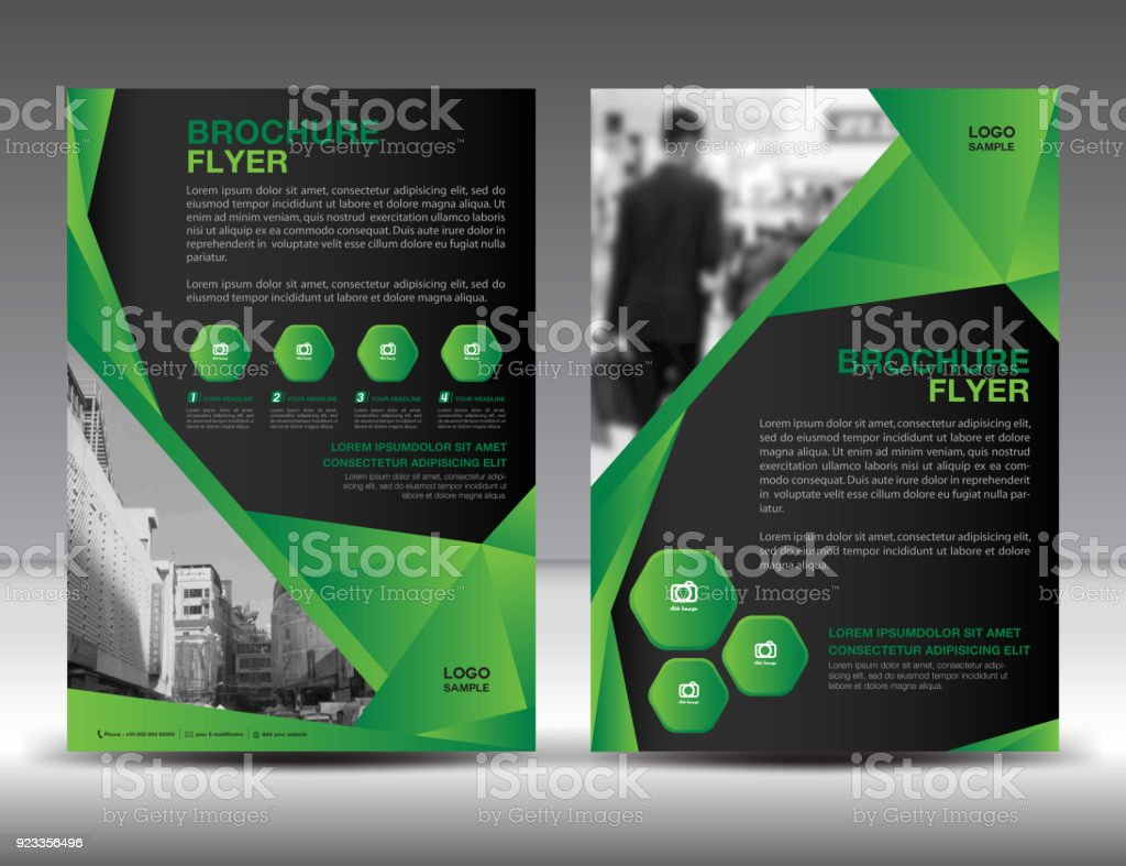 Business brochure flyer template vector illustration green cover business brochure flyer template vector illustration green cover design annual report cover magazine friedricerecipe Images