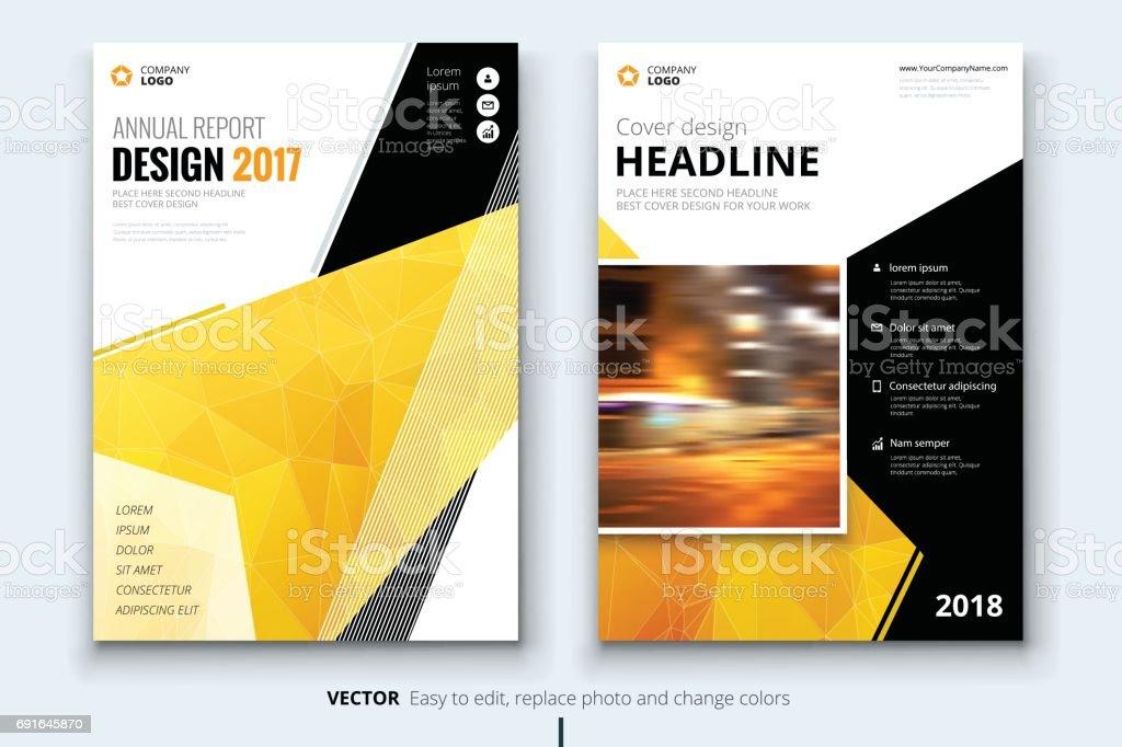 Business Broschüre Oder Flyer Design Merkblatt Präsentation Katalog ...