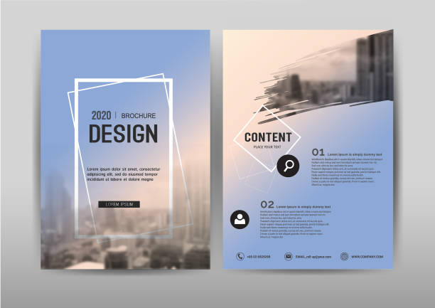 Business brochure template design Cover layout. Business brochure template design.Cover layout for annual report ,presentation,leaflet and Abstract banner for advertising. A4 size vector illustration. covering stock illustrations
