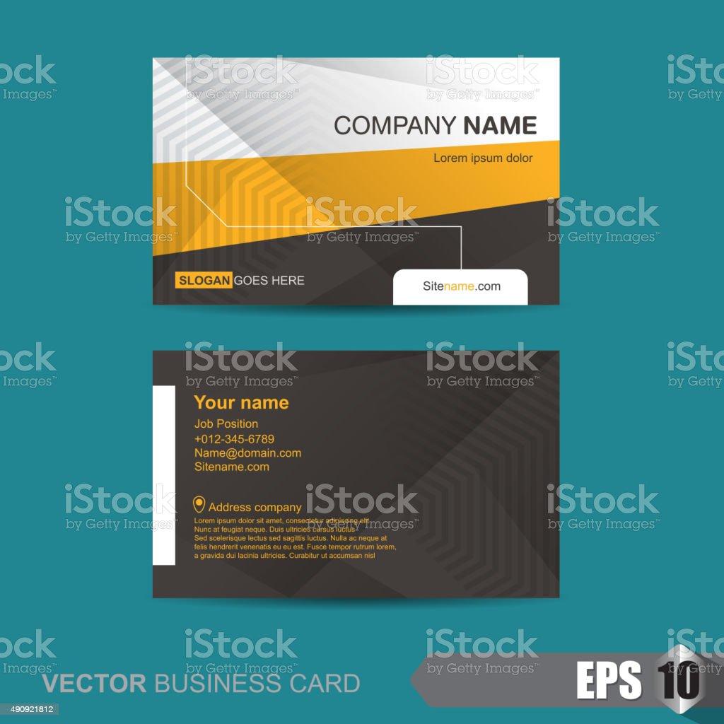 Business Card 260 vector art illustration