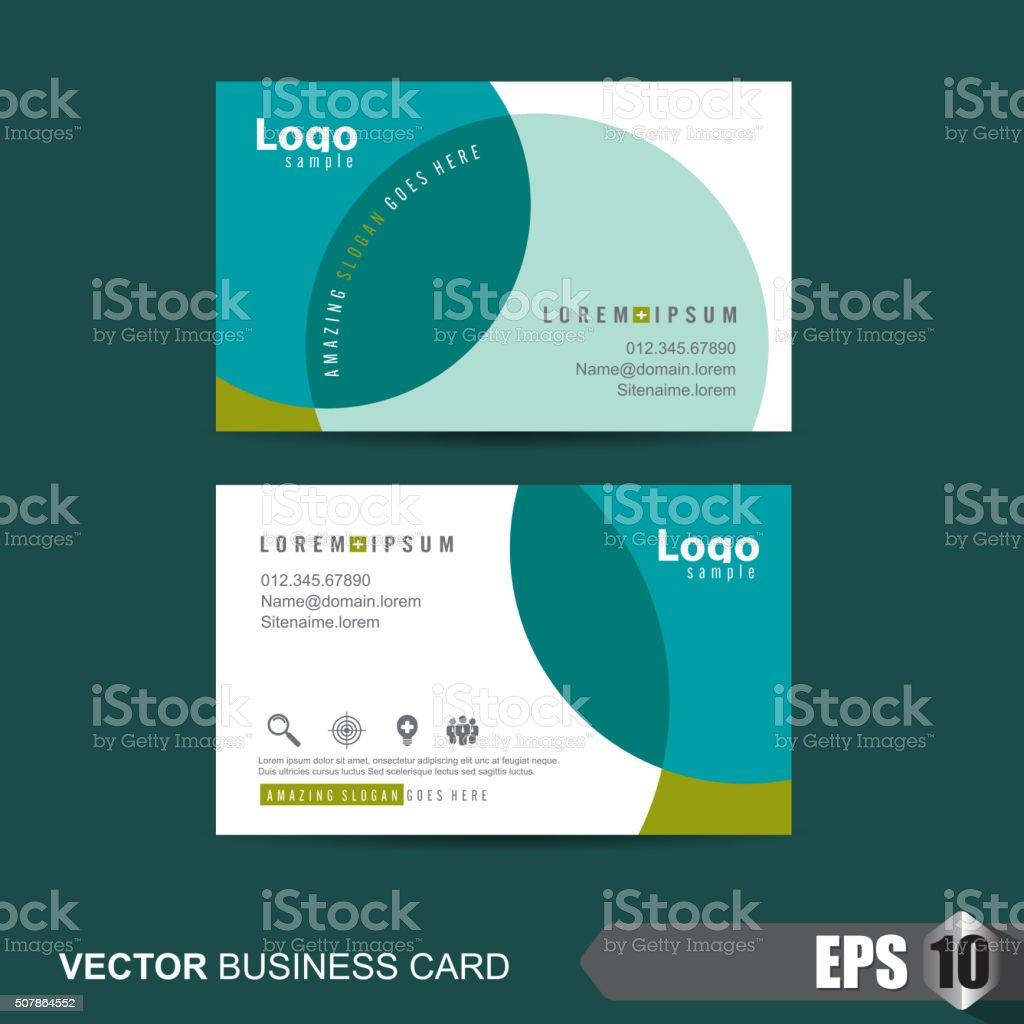 Business Card 328 vector art illustration