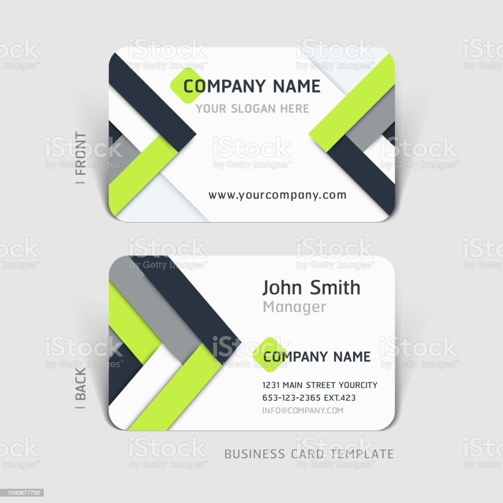 Business card abstract background. Vector illustration. vector art illustration