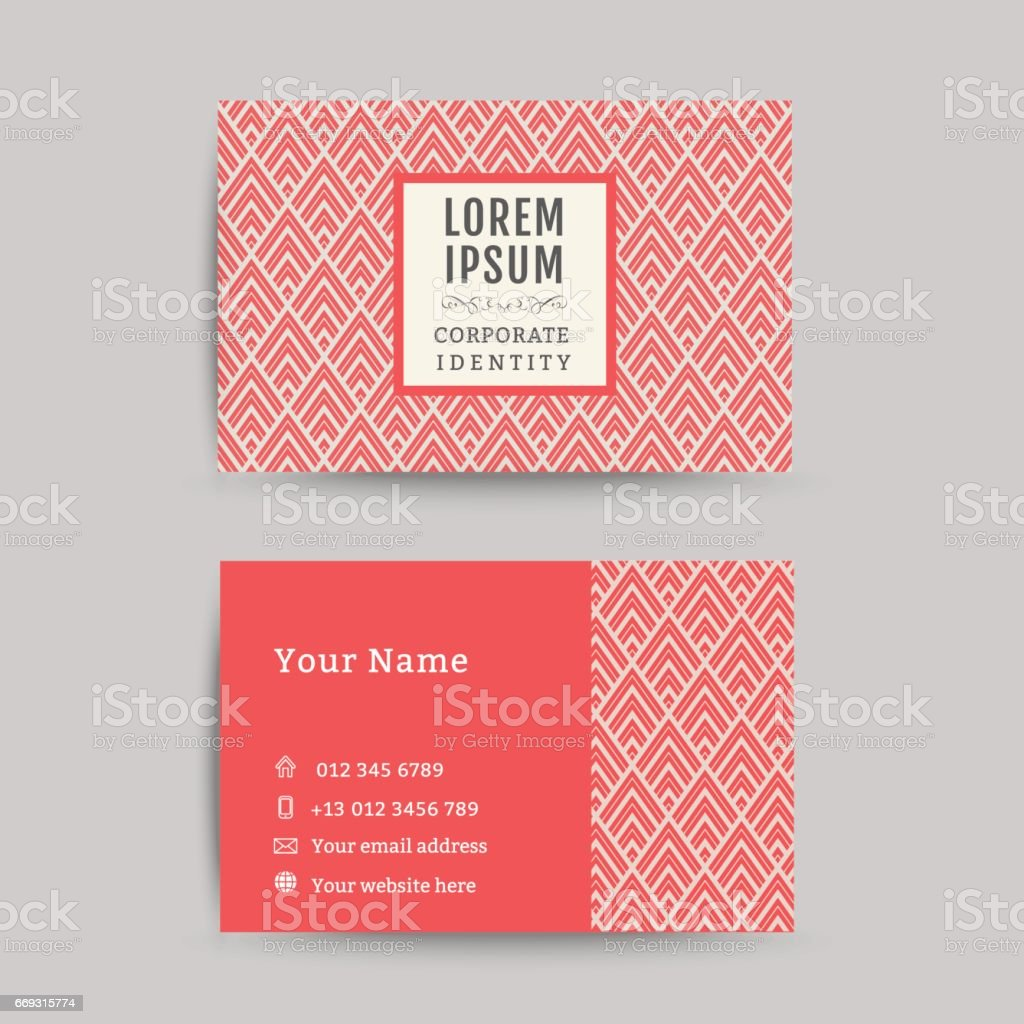 Business card art deco design template 04 stock vector art business card art deco design template 04 royalty free stock vector art magicingreecefo Choice Image