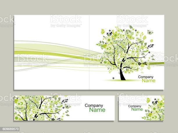Business card collection abstract floral tree design vector id609689570?b=1&k=6&m=609689570&s=612x612&h= 4rnwbtgodunihuxu2lxhv1aopscqvnpbfxrwpdsa a=