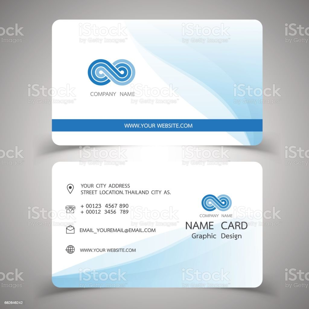 Business Card Design Setvector Illustrations Stock Vector Art & More ...