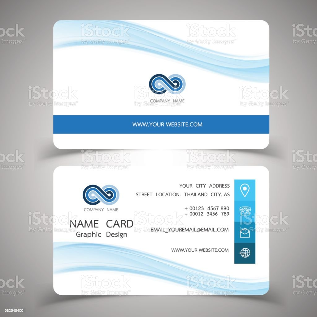 Business Card Design Setvector Illustrations Stock Vector Art ...