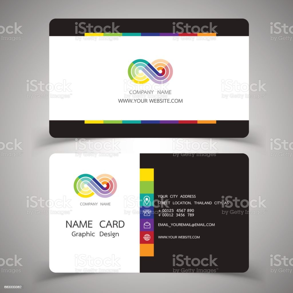 business card design set.Vector illustrations. royalty-free business card design setvector illustrations stock vector art & more images of abstract